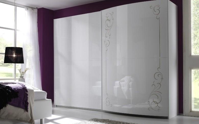 Superbe armoire sebilla blanche